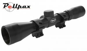BSA .22 Special 4x32 With Mounts - Duplex Reticle