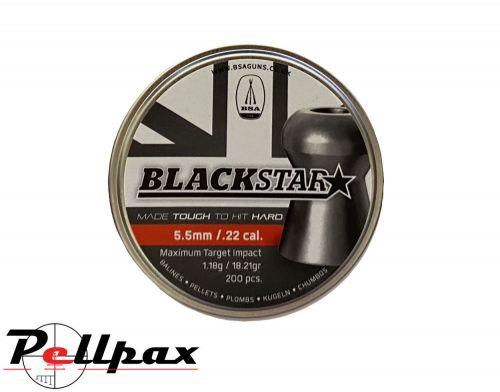 BSA Blackstar Premium Pellets - .22 x 200