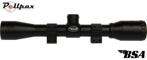 BSA Essential w/ Mounts - 4x32