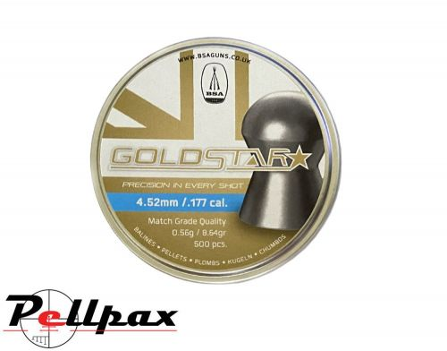 BSA Goldstar Premium Pellets - .22 x 500