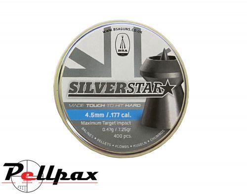 BSA Silverstar Premium Pellets - .177 x 400