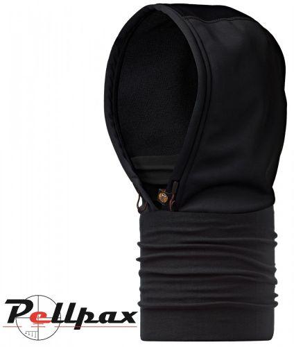 Hood Black Headwear by Buff
