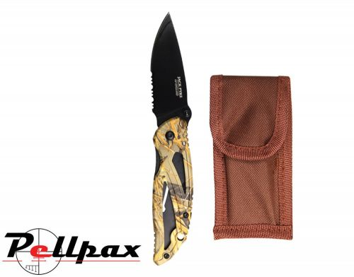 Camo Lock Knife By Jack Pyke