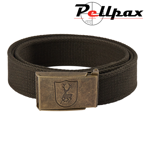 Canvas Belt in Art Green by Deerhunter