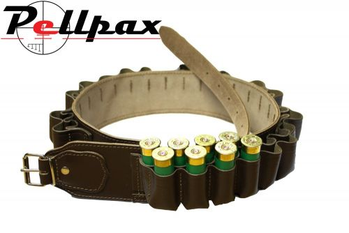 Bisley Leather Double Cartridge Belt