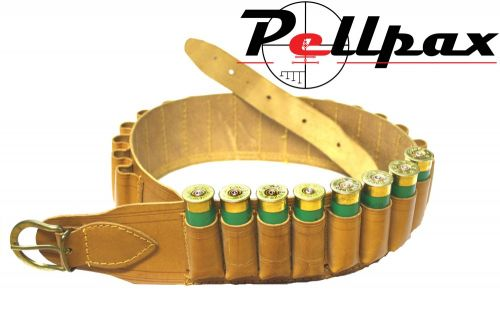 Bisley Natural Leather Cartridge Belt