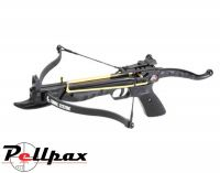 EK Archery Cobra 80lbs Aluminium Pistol Crossbow - Black Stock