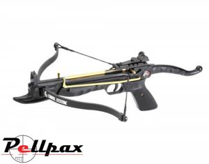 EK Archery Cobra 80lbs Aluminium Pistol Crossbow - Black Stock