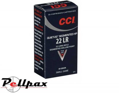 CCI Quiet Segmented Hollow Point - .22LR