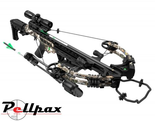 CenterPoint Heat 425 Compound Crossbow - 195lbs