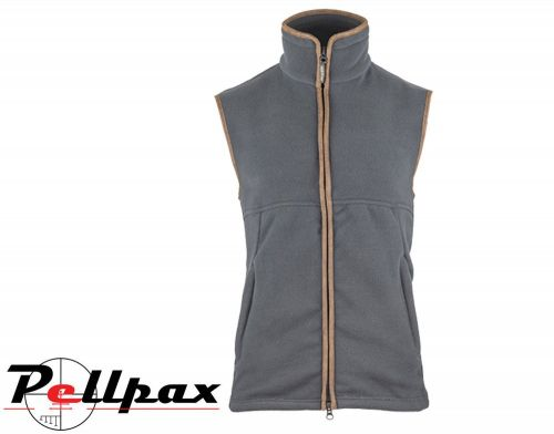Countryman Fleece Gilet By Jack Pyke in Charcoal