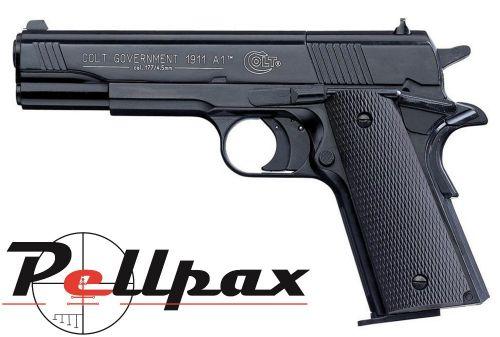 Umarex Colt 1911 A1 Government Black - .177 Pellet