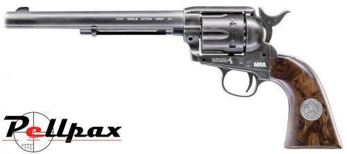 "Umarex Colt Peacemaker SAA 45 7.5"" NRA Limited Edition - .177 Pellet"