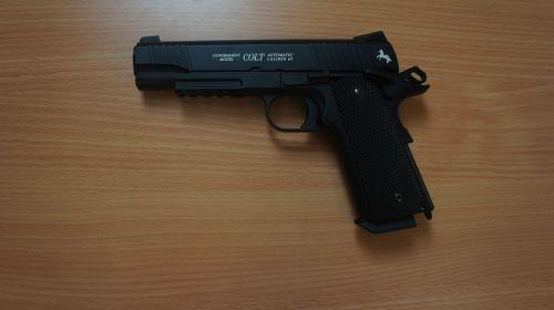 Colt M45 CO2 - 4.5mm BB Air Pistol - Second Hand