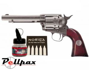 Umarex Colt Peacemaker Marshal's Edition + FREE CO2 & BBs - 4.5mm BB Air Pistol