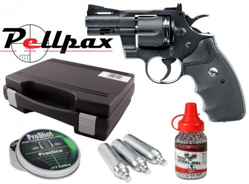 "Colt Python .357 2.5"" Combo Kit - 4.5mm BB & .177 Pellet"