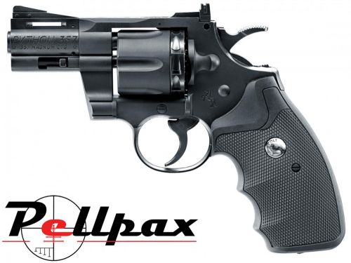 "Colt Python .357 2.5"" Black - 4.5mm BB & .177 Pellet"