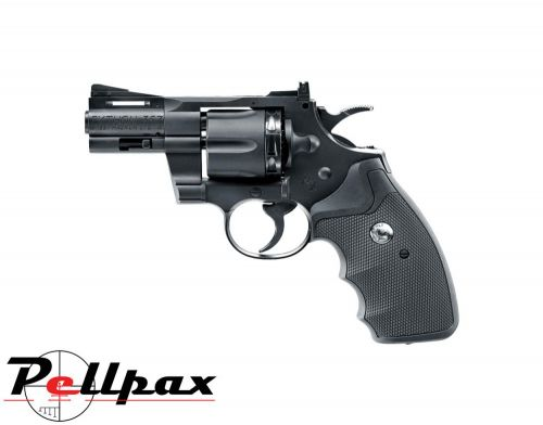 """Colt Python .357 2.5"""" Black - 4.5mm BB & .177 Pellet Air Pistol"""