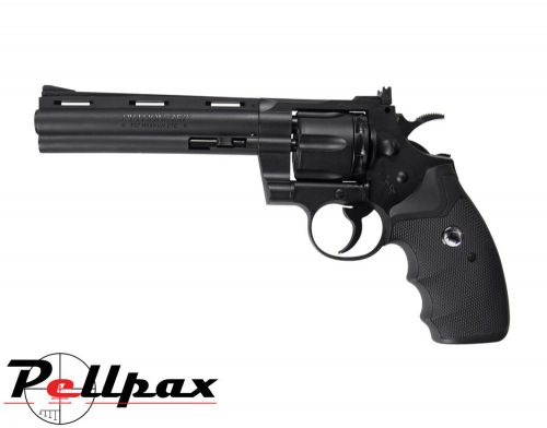 "Colt Python .357 6"" Black - 4.5mm BB & .177 Pellet Air Pistol"