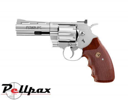 """Colt Python 4"""" Nickel - 4.5mm BB Air Pistol"""