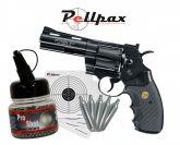 """Colt Python 4"""" Black 4.5mm BB - Autumn Sale!"""