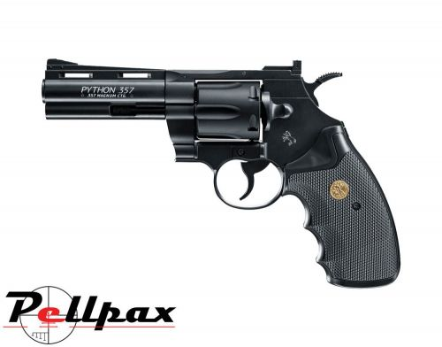 "Colt Python 4"" Black - 4.5mm BB Air Pistol"