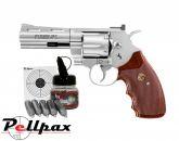 """Colt Python 4"""" Nickel Kit - 4.5mm BB Air Pistol"""