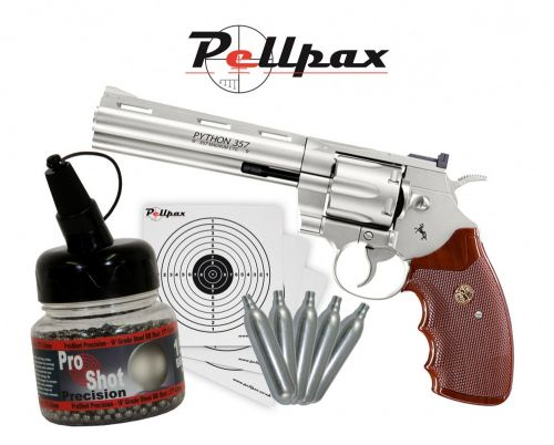 "Colt Python 6"" Nickel 4.5mm BB - Christmas Specials!"
