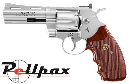 "Colt Python 4"" Nickel - 4.5mm BB"