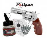 "Colt Python 4"" Nickel - 4.5mm BB - Spring Sale!"