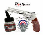 """Colt Python 6"""" Nickel 4.5mm BB - Autumn Sale!"""