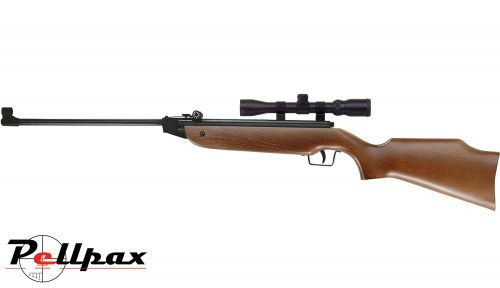 Cometa 100 Air Rifle and Scope Combo .177