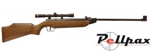Cometa 100 Rifle and Scope Combo .177
