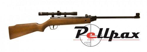 Cometa 50 Rifle and Scope Combo .22