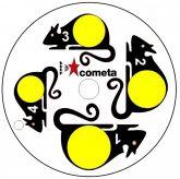 Cometa Swivel Target Paper Targets