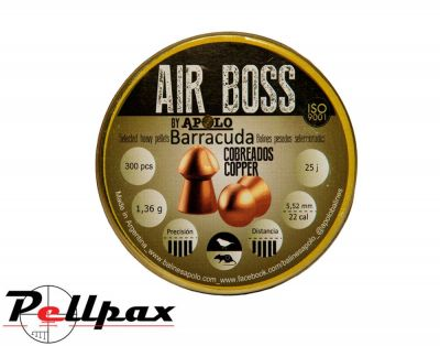 Apolo Air Boss Barracuda Copper .22 x 300