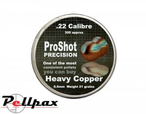 ProShot Precision Heavy Copper .22 x 300