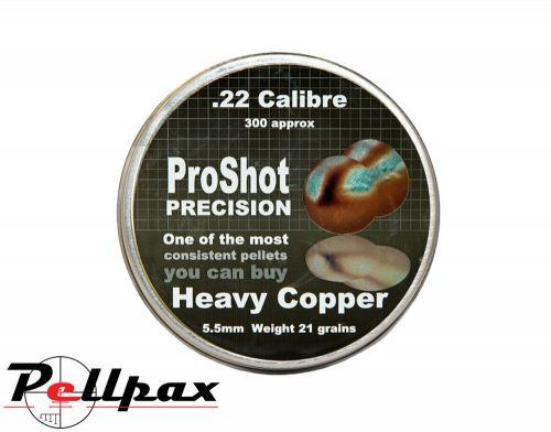 ProShot Precision Heavy Copper .22 x 300