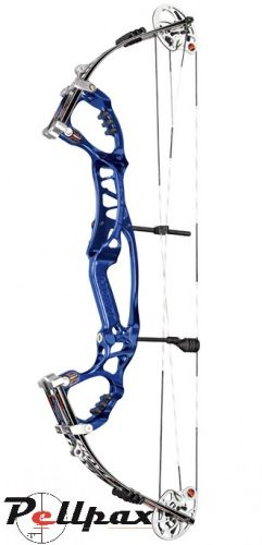 2014 Hoyt Pro Edge Elite Left Handed Compound Bow Cobalt