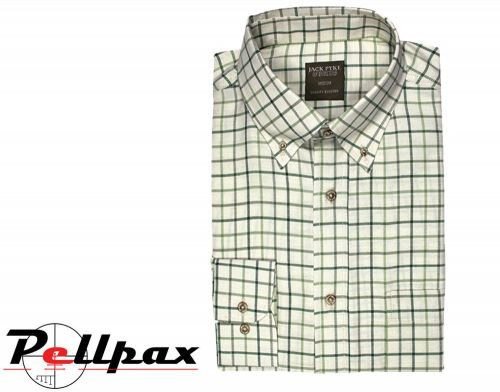 Junior Countryman Shirt By Jack Pyke in Green Check