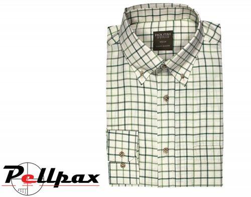 Junior Countryman Shirt By Jack Pyke in Green Check