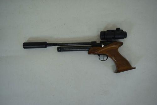 SMK Victory CP1 - .177 Pellet Air Pistol w/ Hard Case + Scope - Second Hand