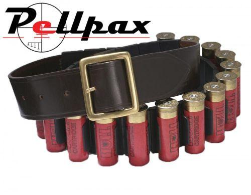 Croots Malton Bridle Leather Quick Release Cartridge Belt