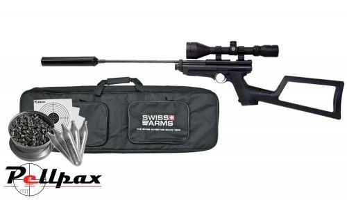 Crosman 2250 Ratcatcher Kit - .22 Pellet CO2 Air Rifle