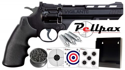 Crosman 3576W / Vigilante Shooting Gallery - .177 Pellet