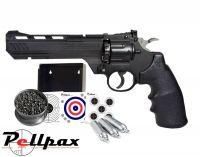 Crosman 3576W / Vigilante Shooting Gallery - .177 Pellet Air Pistol