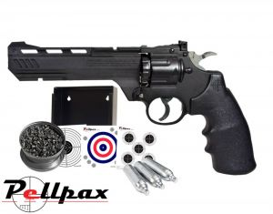 Crosman 3576W / Vigilante Shooting Gallery - .177 Pellet Air Pistol
