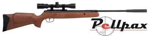 Crosman Nitro Venom Wood & 3-9x32 Scope Air Rifle Kit - .177