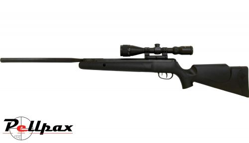 Crosman Phantom Mark II .22 Pellet Spring Rifle + Bag - Second Hand