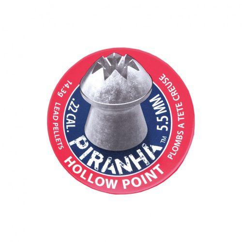 Crosman Piranha Hollowpoint Pellets .22 x 400